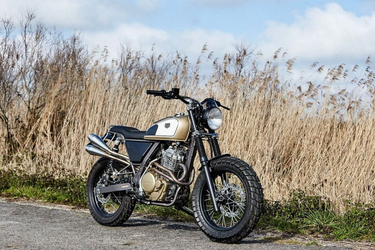 Honda NX650 Dominator Rua Machines