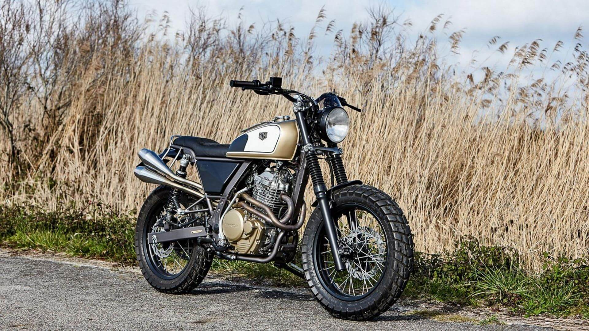 Honda NX650 Dominator by Rua machines