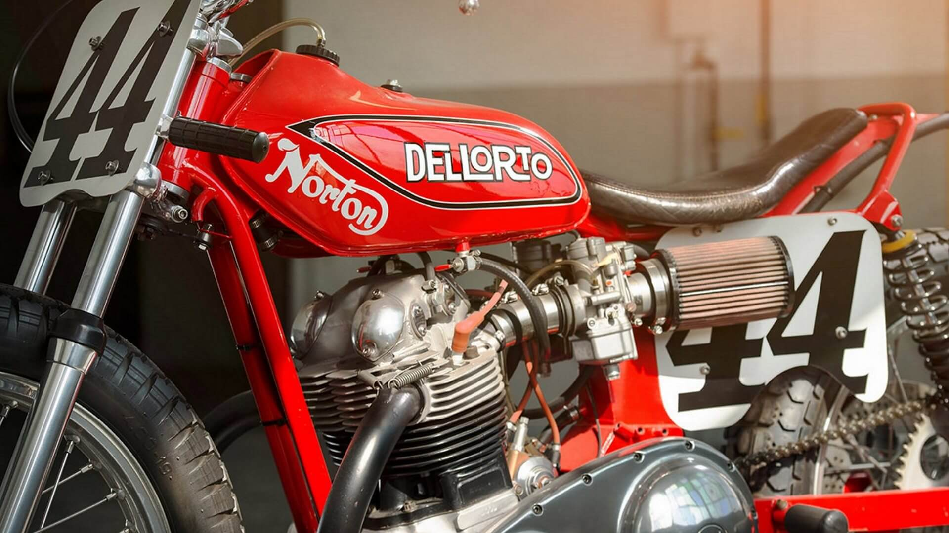 Norton Lightweight DellOrto Ron Wood
