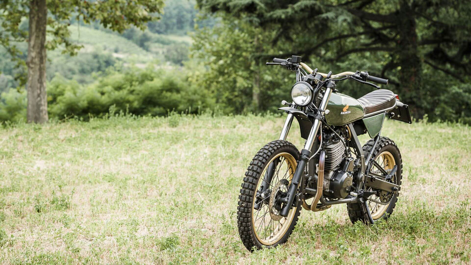 Honda NX 650 Dominator by North East Custom