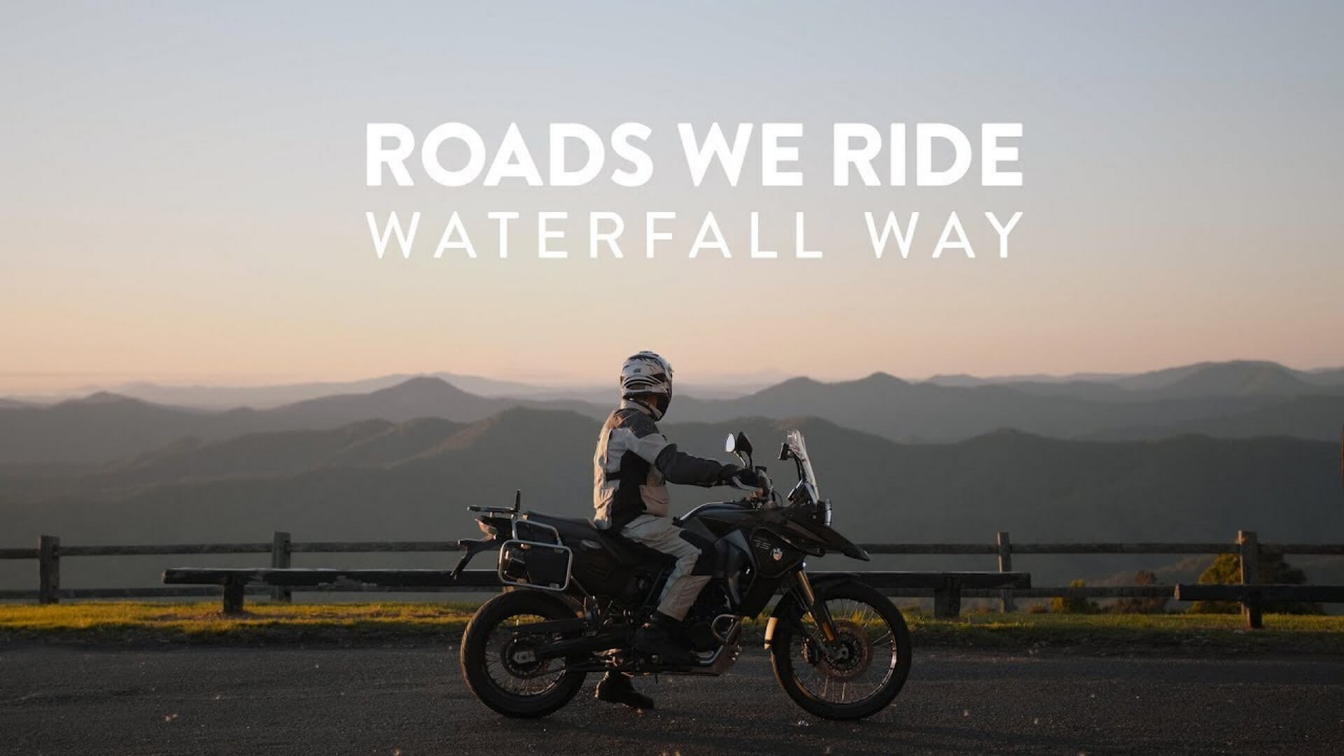 Roads We Ride Waterfall Way